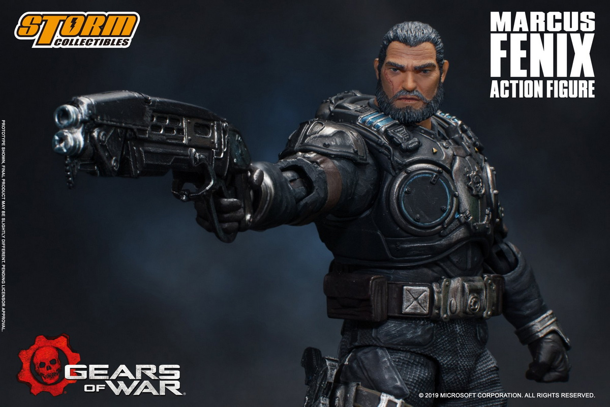 Marcus Fenix Gears Of War 1 12 By Storm