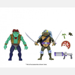 neca-tmnt-leatherhead-slash-2-pack